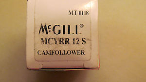 New in the Box McGill Cam Follower MCYRR 12 S Free Shipping
