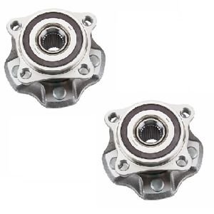 Lexus RX350 RX450h 2008-2014 Set of 2 Rear Axle Bearing and Hub Assembly NSK