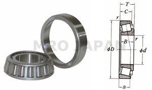 [NEW] NSK Single row tapered roller bearing HR32214J
