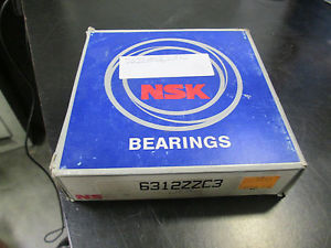 NSK Ball Bearings 6312ZZC3