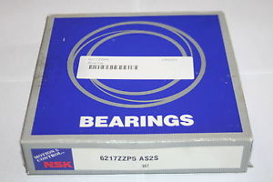 NSK 6217 ZZ.P5 AS2S High Precision Shielded Deep Groove Bearing * NEW *