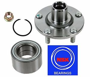 Front Wheel Hub & (OEM) NSK Bearing Kit fit Nissan Altima 3.5L 2002-2006
