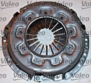 VALEO Clutch Kit 3P Cover Plate Bearing Fits CARBODIES Fx NISSAN Urvan 1985-