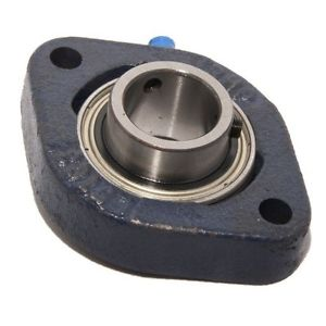 LFTC15EC 15mm Bore NSK RHP Cast Iron Flange Bearing