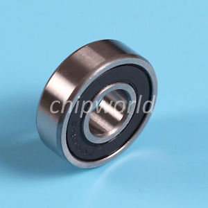 6000RS 10x26x8mm Rubber Sealed Deep Groove Ball Bearing HOT
