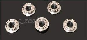5PCS MF83ZZ 3x8x2.5mm Metal Shielded FLANGED PRECISION Ball Bearing Set