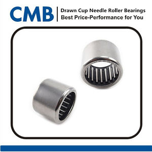10pcs HK2020 Drawn Cup Needle Roller Bearing 20x26x20mm