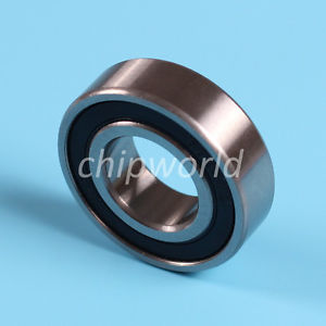 1pc 6003-2RS two side rubber seals bearing 6003-rs ball bearings 6003 rs