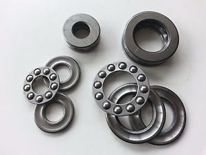 10Pcs 51104 Axial Ball Thrust Bearing 3-Parts 20mm x 35mm x 10mm
