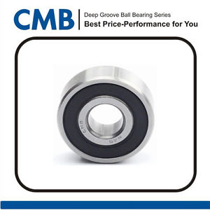 6303-2RS C3 6303 2rs C3 Rubber Sealed Ball Bearing 17x47x14mm