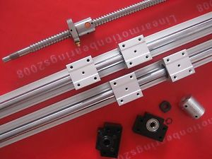 1 ballscrew RM1605-1000-C7+BK12 BF12 + coupings + SBR16-1000mm cnc router