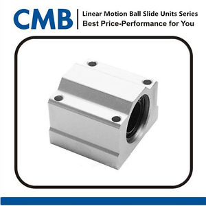 SC20UU SCS20UU Linear Ball Bearing Motion Bearing CNC Pillow Block Brand New