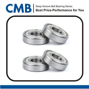 4PCS 609ZZ 609-2Z 609ZZ Double Metal Shielded Ball Bearing 9mmx24mmx7mm