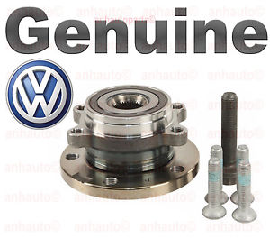 Genuine Audi Volkswagen Wheel Hub and Bearing Assembly A3 Golf Jetta Rabbit