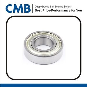 6007ZZ Deep Groove Ball Bearing 6007-ZZ 6007-2Z Metal Bearings 35x62x14mm