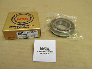 1 NIB NSK 7006CTRDULP3 SUPER PRECISION BEARING ANGULAR 7006 CTRDULP3 30x55x15 mm