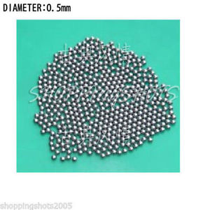 10000pcs Dia/Diameter 0.5 mm bearing balls Carbon steel ball bearings in stock