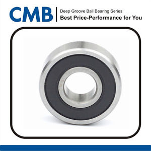 1 Piece 6000-2rs Rubber Sealed Ball Bearing 6000-2RS 10x26x8mm Brand New