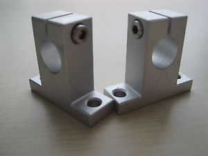 2 Pcs 25 mm SK25 Router Shalft Support Bearing XYZ CNC SK Series