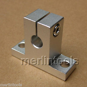 2pcs SK8 Linear Rail Shaft Guide Support CNC