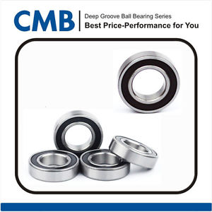 (Qty.5) 6006-2RS Rubber Sealed Ball Bearing 6006 2rs 30x55x13mm