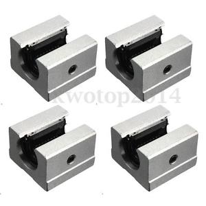 16mm SBR16UU Router Motion Bearing Solide Block Unit XYZ CNC SBR Series