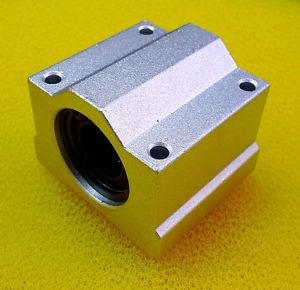 2 PCS SCS13UU (13mm) Metal Linear Ball Bearing Pellow Block Unit FOR CNC SC13UU