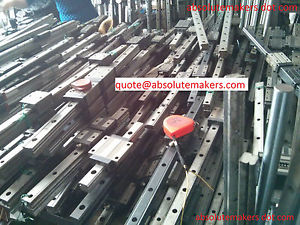 THK HSR25LA NSK IKO Used Linear Guide Rail Bearing CNC Router Various Length