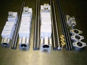 Custom CNC Linear Kit-Rails Bearings Spindle nuts supports XY Axis