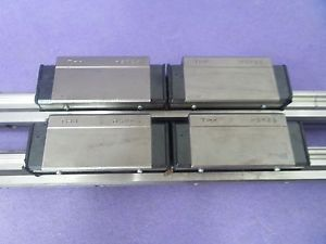THK HSR25 Linear Bearing 2Rail 4Block HSR25 LM Guide CNC Route, USED