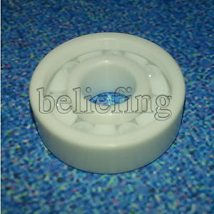 2pcs 6003 Full Ceramic Bearing ZrO2 Ball Bearing 17x35x10mm Zirconia Oxide