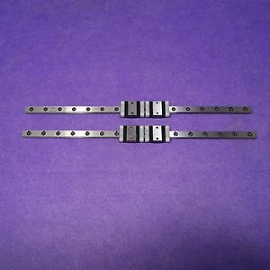 IKO LWLC7B+240mm LM Guide Linear Bearing 2Rail 4Block CNC Route THK, USED