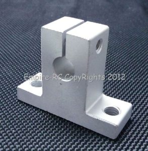 (4 PCS) SK25 (25mm) Linear Rail Shaft Support FOR XYZ Table CNC Router Milling