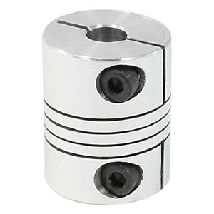 uxcell 6×6.35mm CNC Motor Shaft Coupler 6.35mm to 6mm Flexible Coupling New