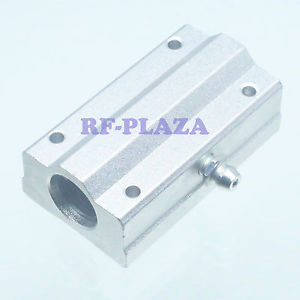 SCS8LUU 8mm Linear motion ball slide units bearing block Al Rail guide shaft CNC