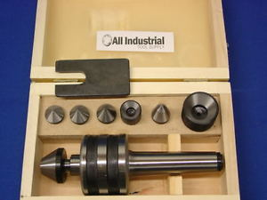 MT3 Live Center Set Morse Taper 3MT Triple Bearing Lathe Medium Duty CNC