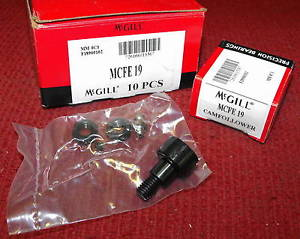 McGill – 19mm, Metric Cam Follower – Part #MCFE-19 – Box of 10 pieces – NEW