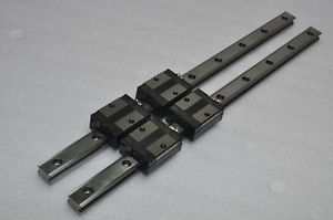 THK Linear Bearing LM GUIDE SSR25XV 520mm 2Rails 4Blocks NSK IKO CNC Router