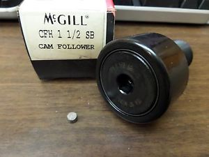 NEW MCGILL CAM FOLLOWER BEARING CFH 1 1/2 SB CFH11/2SB