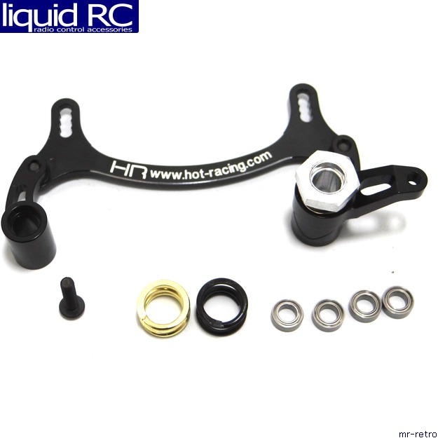 Hot Racing AEX4801 CNC Six Bearing Steering