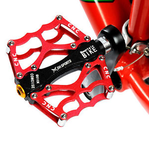 Universal MTB Bike Bicycle Pedals Mountain Bike Aluminum CNC Bearing Pedals