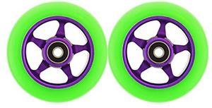 Metal Core 100mm CNC Scooter 2 Wheels with Abec 11 Bearings Razor HEAVY DUTY! IN