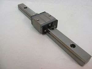 "NSK LS20 SZ Bearing Block and 250mm(9-14/16"") Linear Rail/Slide/Guide, Axis, CNC"