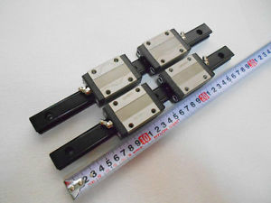 THK SR20 Linear bearings & rails L280mm cnc nsk router block #1