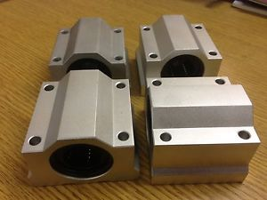 x4pcs SC16 Housing + ID16mm Samic Linear Bearing CNC