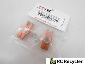 STRC CNC Alu Rear 1 deg. Hub Carriers Outer Bearings STA80104-1O Axial EXO 1/10