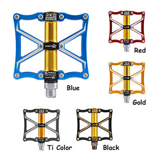 RockBros Cycling Pedals Z4 Sealed Bearing CNC Spindle Aluminum Alloy Pedals