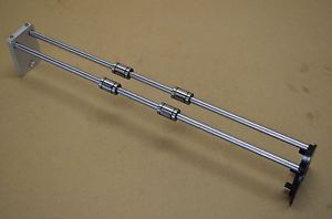 2 THK Linear Bearing Shafts, LME8GA, 425mm long, 8mm, CNC Automation, 3d Printer