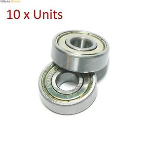 608ZZ Ball Bearings Pack of 10 – for 3D printers, CNC, Skateboards, Roller blade