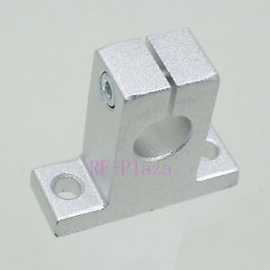 SK12 12mm CNC Linear motion ball slide units Rail support guide shaft Bearing Al